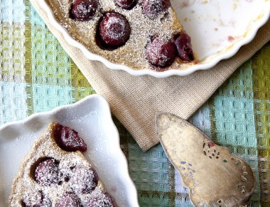 Julia Child's Cherry Clafoutas | Via Sassy Kitchen | Camille Style