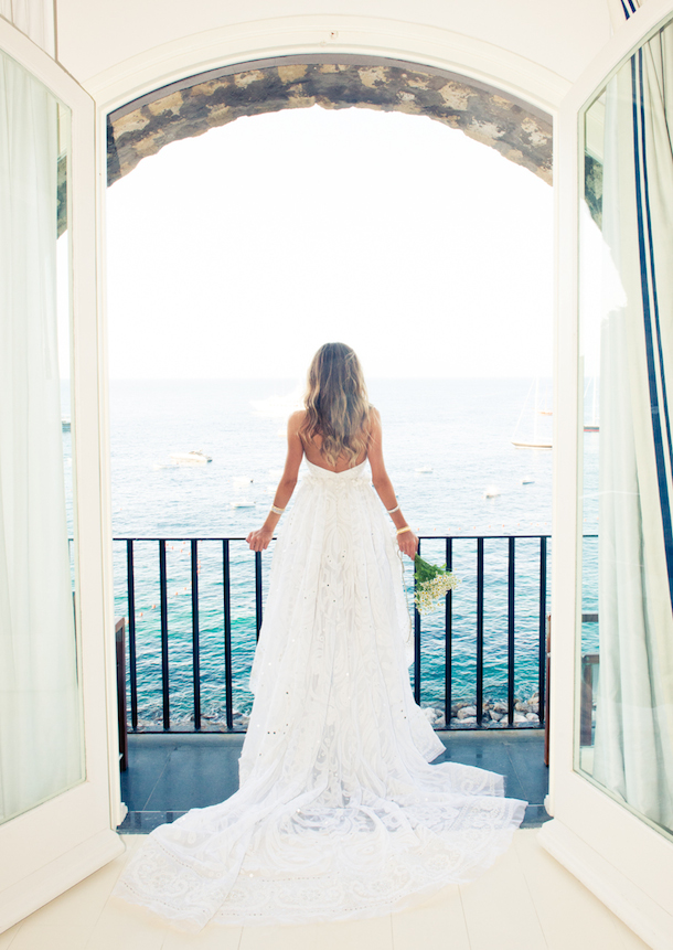 Erica Pelosini wedding in Capri, photo by The Coveteur | Camille Styles