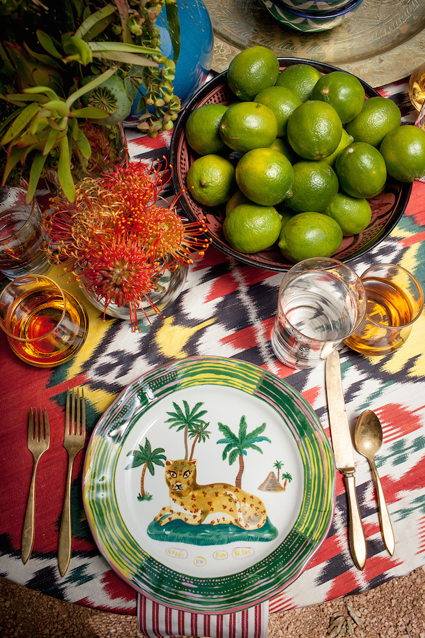 Indian Tabletop | Photography by Melanie Grizzell for Camille Styles