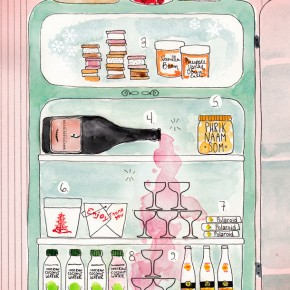 What's On Hand | Deana Saukum |llustration by Kelly Colchin for Camille Styles