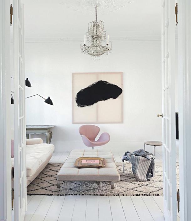 Elegant Modern Living Room From Vogue Living | Camille Styles