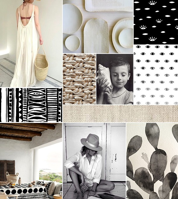 Natural Inspiration Board | Camille Styles