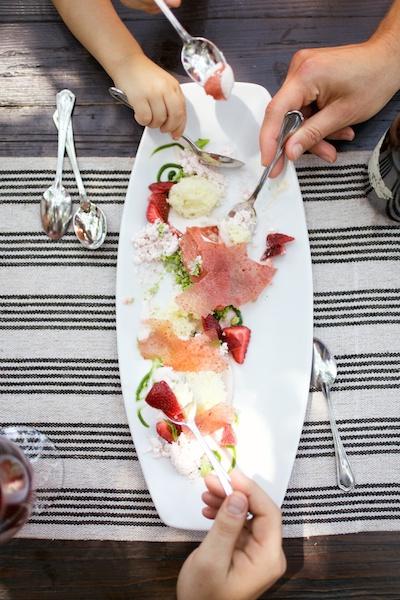 Strawberry Mousse dessert