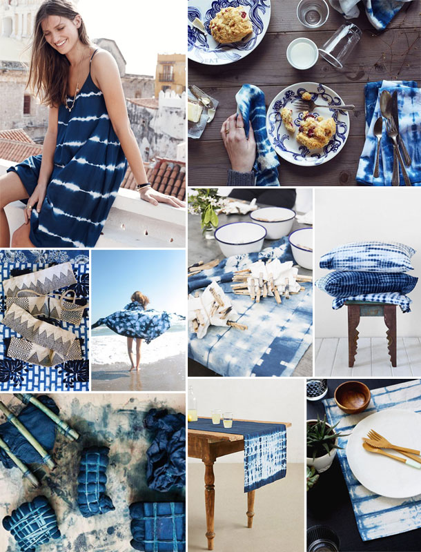 Shibori Inspiration Board