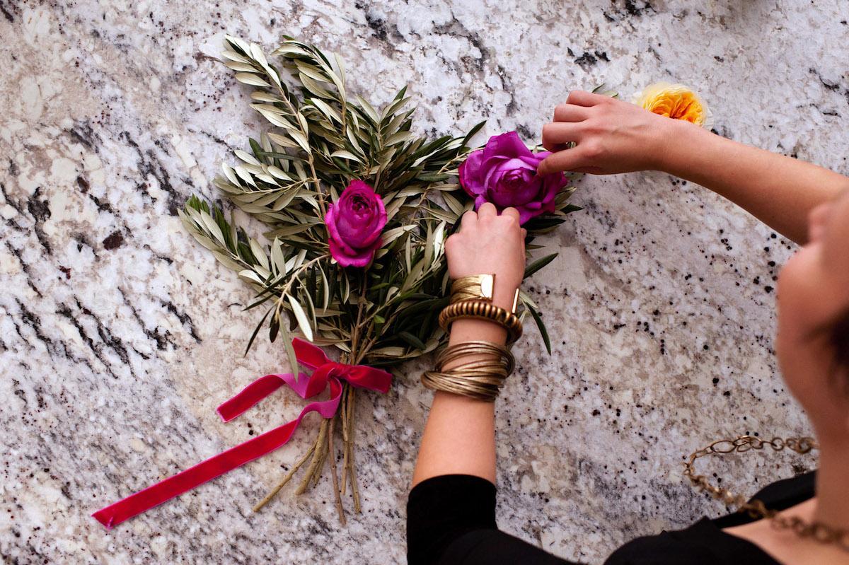 Floral Designer at Work