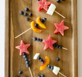 Fresh Fruit Skewers | After School Snack Ideas