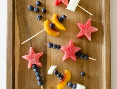 Fresh Fruit Skewers | After School Snack Ideas