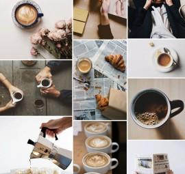 espresso inspiration board