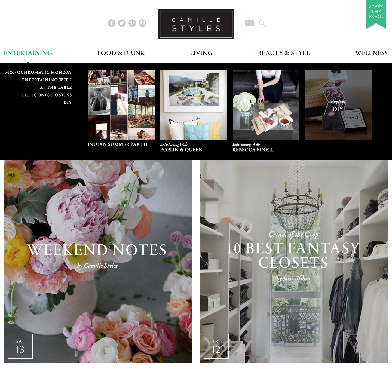 Our New Site Design | Camille Styles
