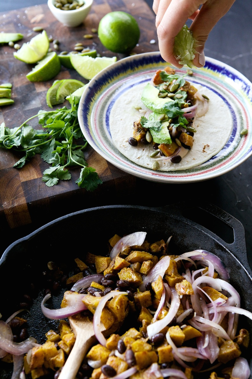 pumpkin spice taco recipe | Camille Styles