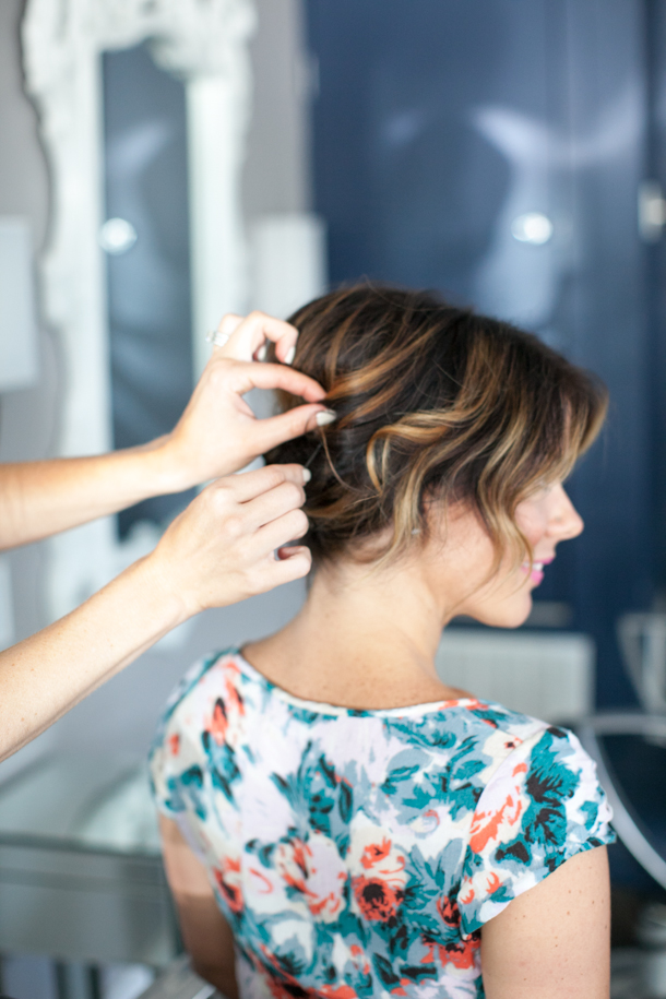 Pretty Simple Updo For Short Hair Camille Styles