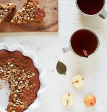 Apple Almond Breakfast Cake