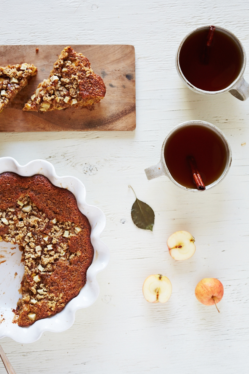 Apple Almond Breakfast Cake - Camille Styles