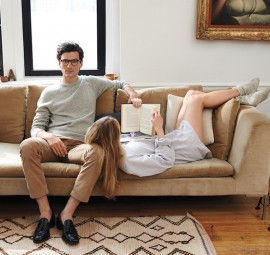 Modern Couple, Jack Spade Fall Cookbook 2014