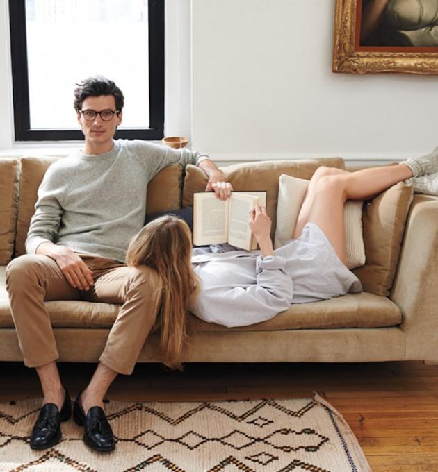 Modern Couple, Jack Spade Fall Cookbook 2014