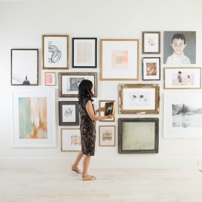 Minted Art Wall
