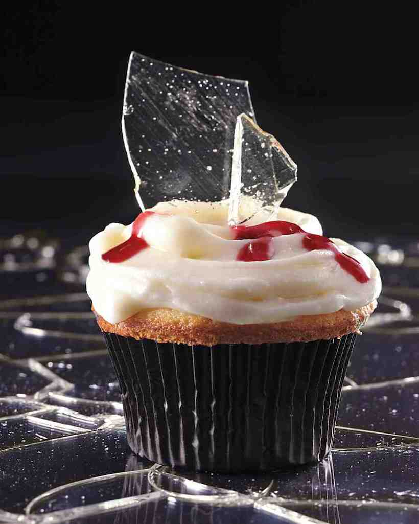 """Broken Glass"" Cupcakes"