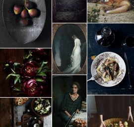 Dark Rustic Inspiration Board