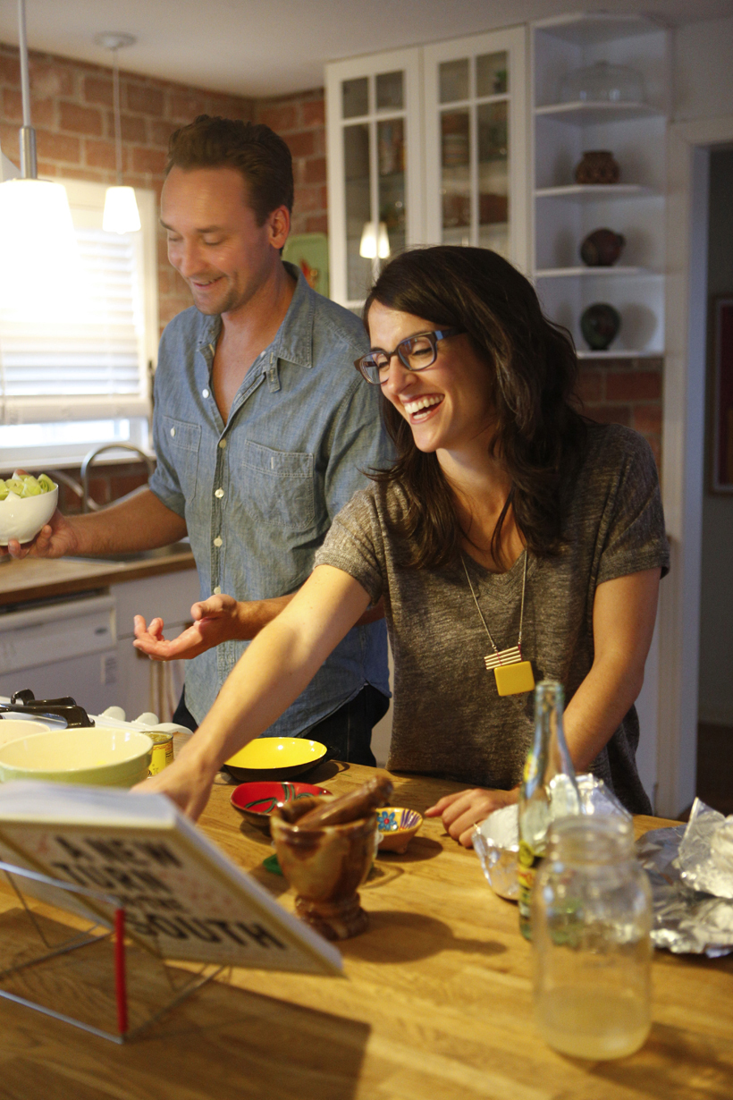 A Progressive Dinner Party - Camille Styles