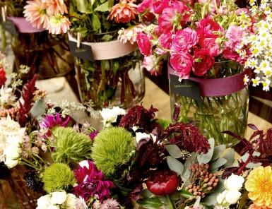 fall flower market