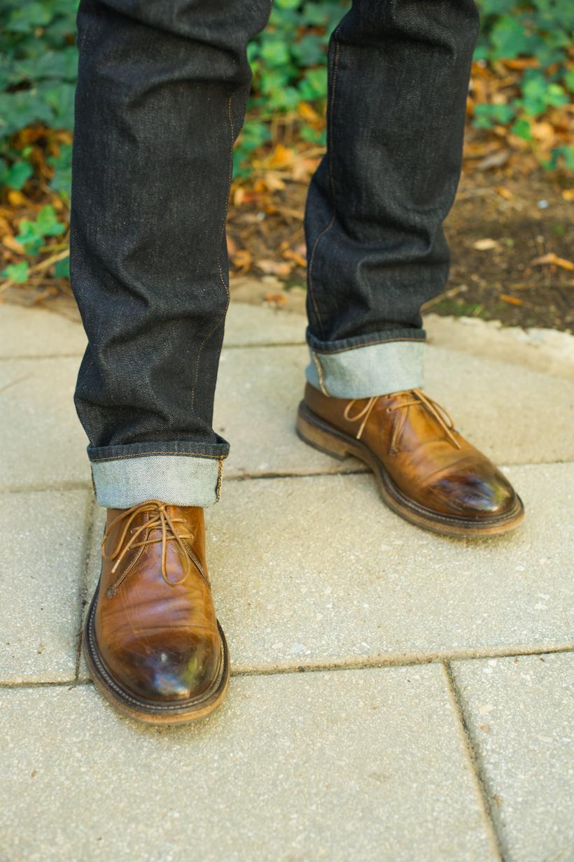 men's brown oxford shoes