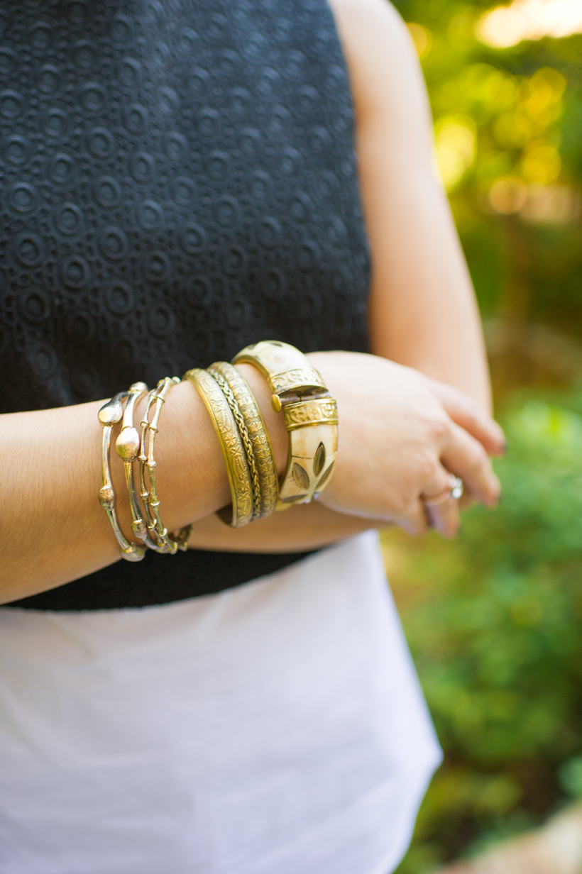 gold bangle accessories