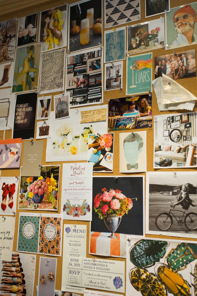 southern living bulletin board inspiration