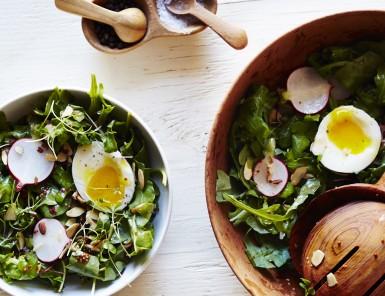 Arugula Breakfast Salad