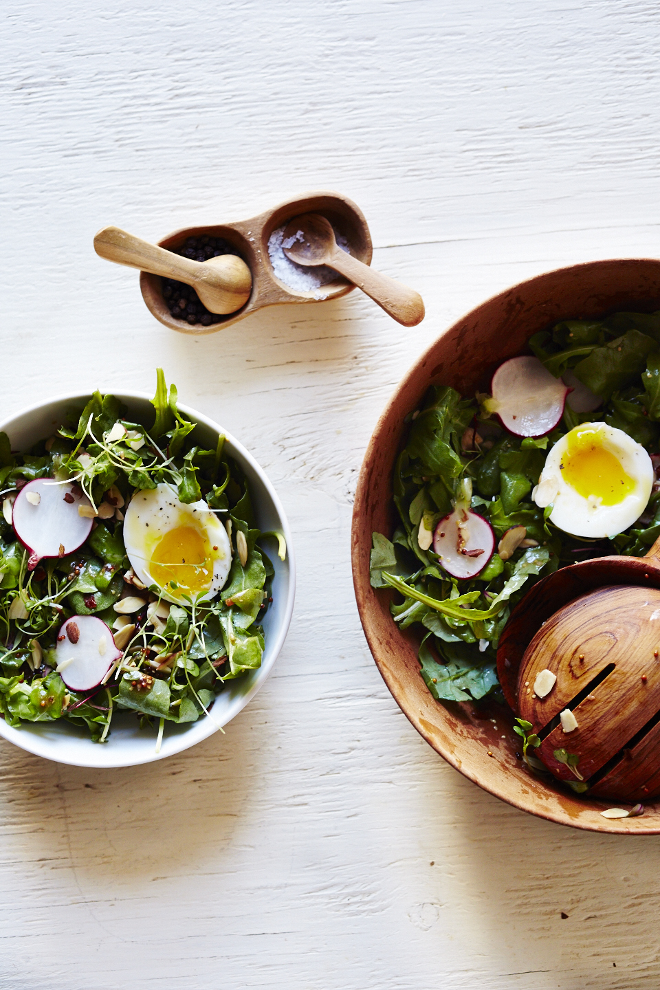 Arugula Breakfast Salad