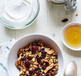 Cranberry Pumpkinseed Granola