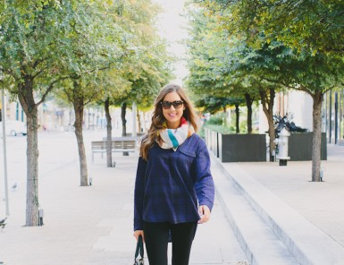 Camille Styles, Gap Styld.by | Crazy Striped Scarf