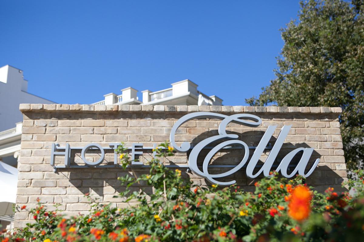 Hotel Ella sign, Austin