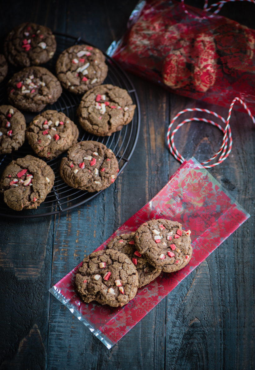 Peppermint Hot Chocolate Cookies | Best Christmas Cookie Recipes