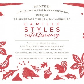 San Francisco Invitation | Camille Styles