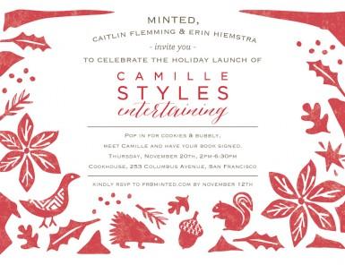 San Francisco Invitation | Camille Styles