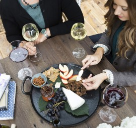 Wine and Cheese Fall Party