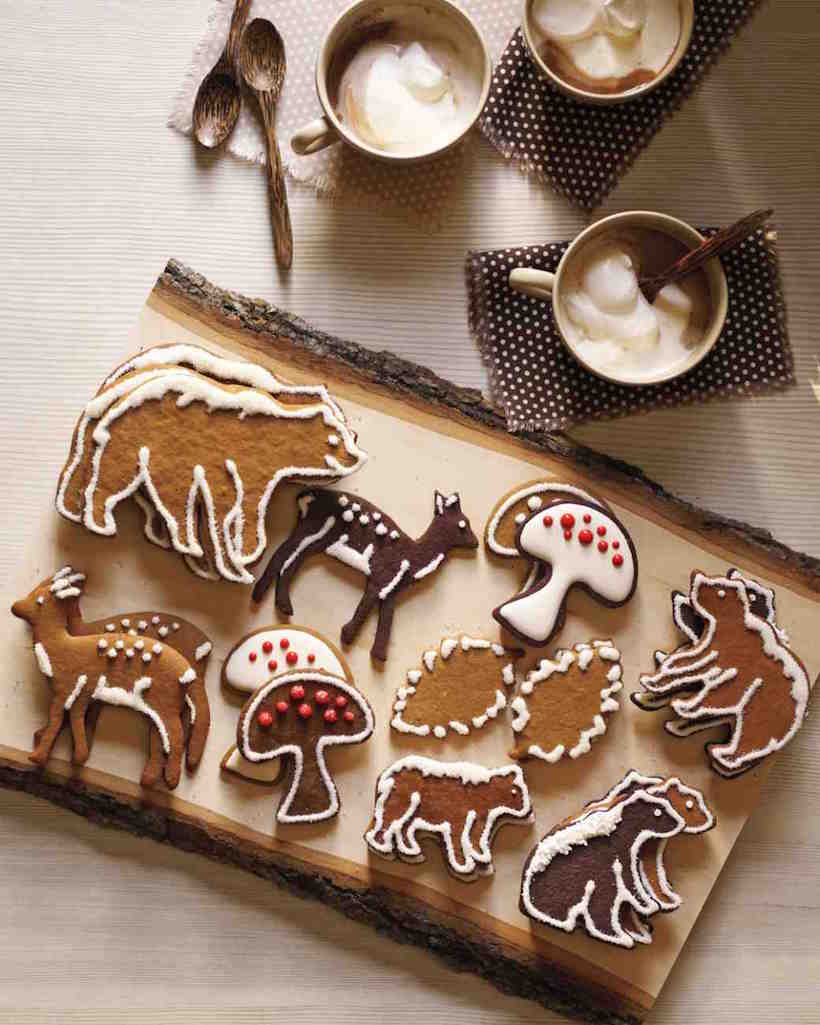 honey spice gingerbread cookies | best Christmas cookie recipes
