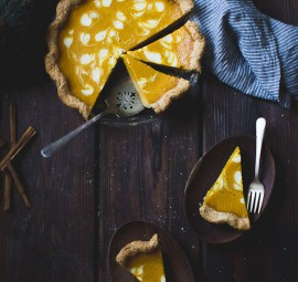 kabocha pumpkin buttermilk pie