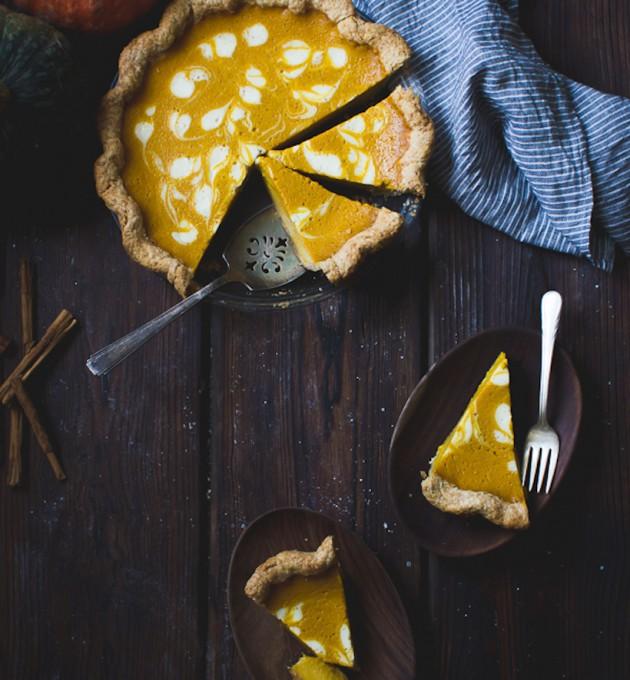 kabocha pumpkin buttermilk pie