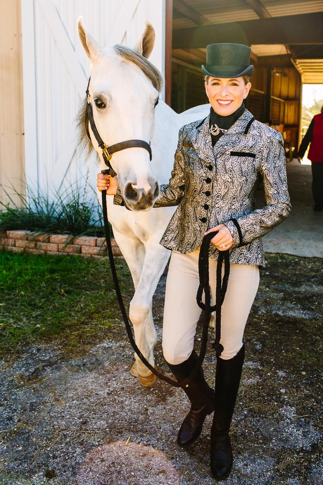 Equestrian Quincy DeSpain Ellis