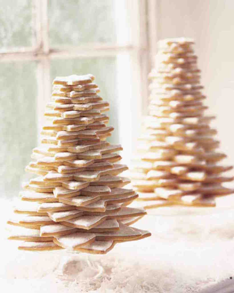 star-shaped christmas tree cookies   Best Christmas Cookie Recipes