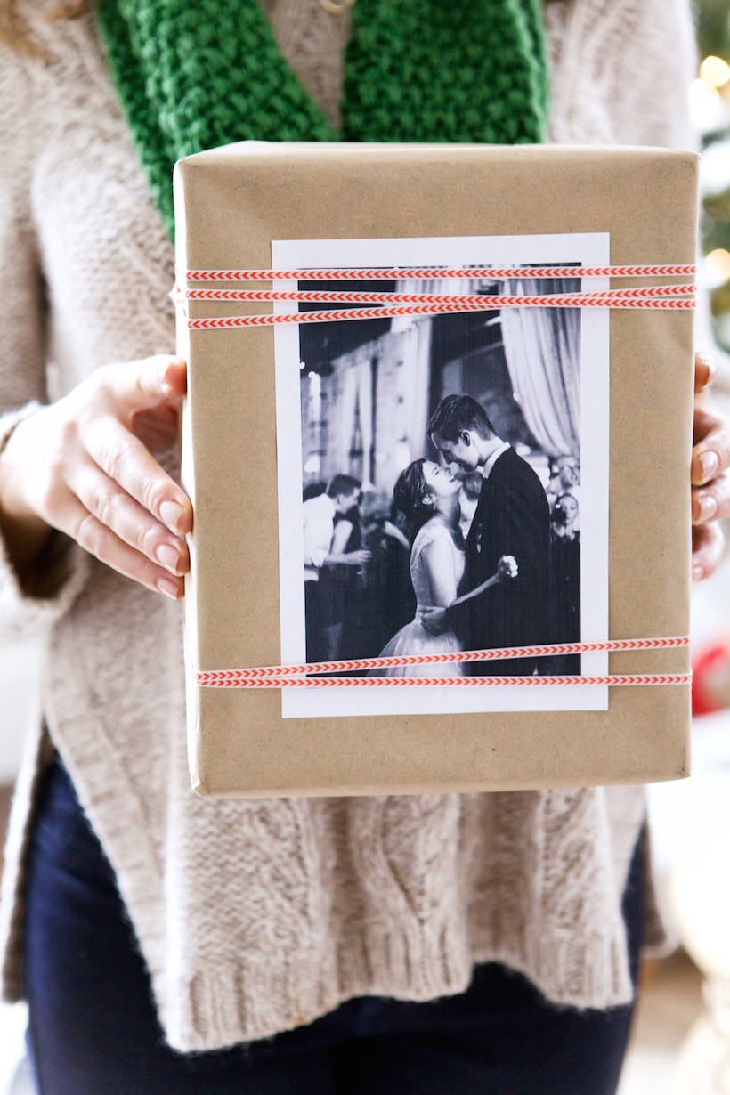 Personalize presents with old family photos
