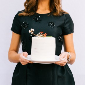 Christmas Cake | Camille Styles San Francisco Book Party