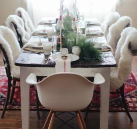 Scandinavian Christmas Table
