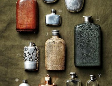 Vintage Flask Collection