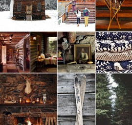 Cozy Cabin Inspiration Board