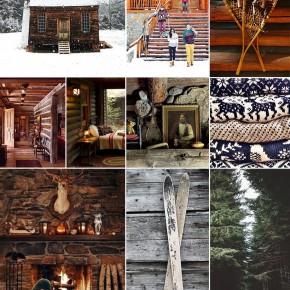 Cozy Cabin Inspiration Board