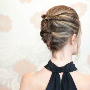 Textured French Twist Hair Tutorial