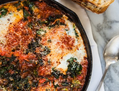 Eggs & Braised Greens