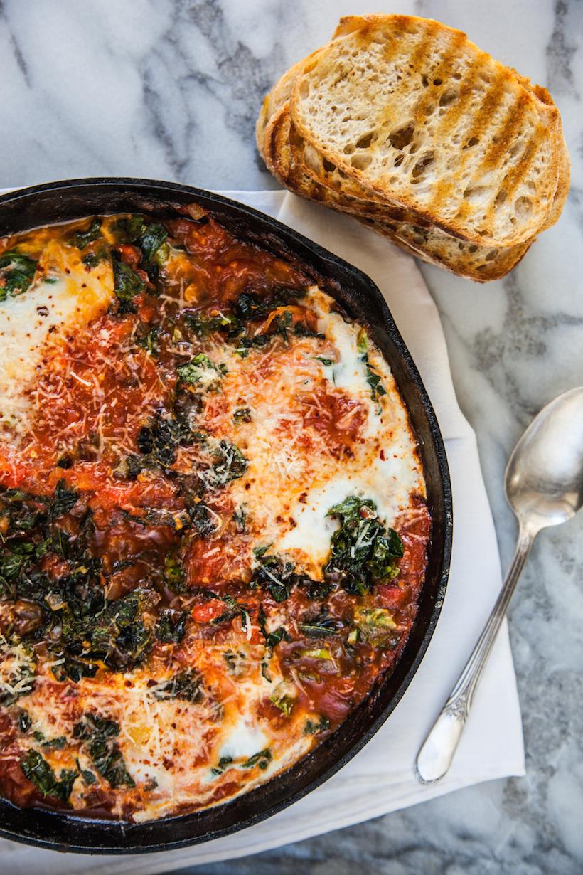 Eggs & Braised Greens
